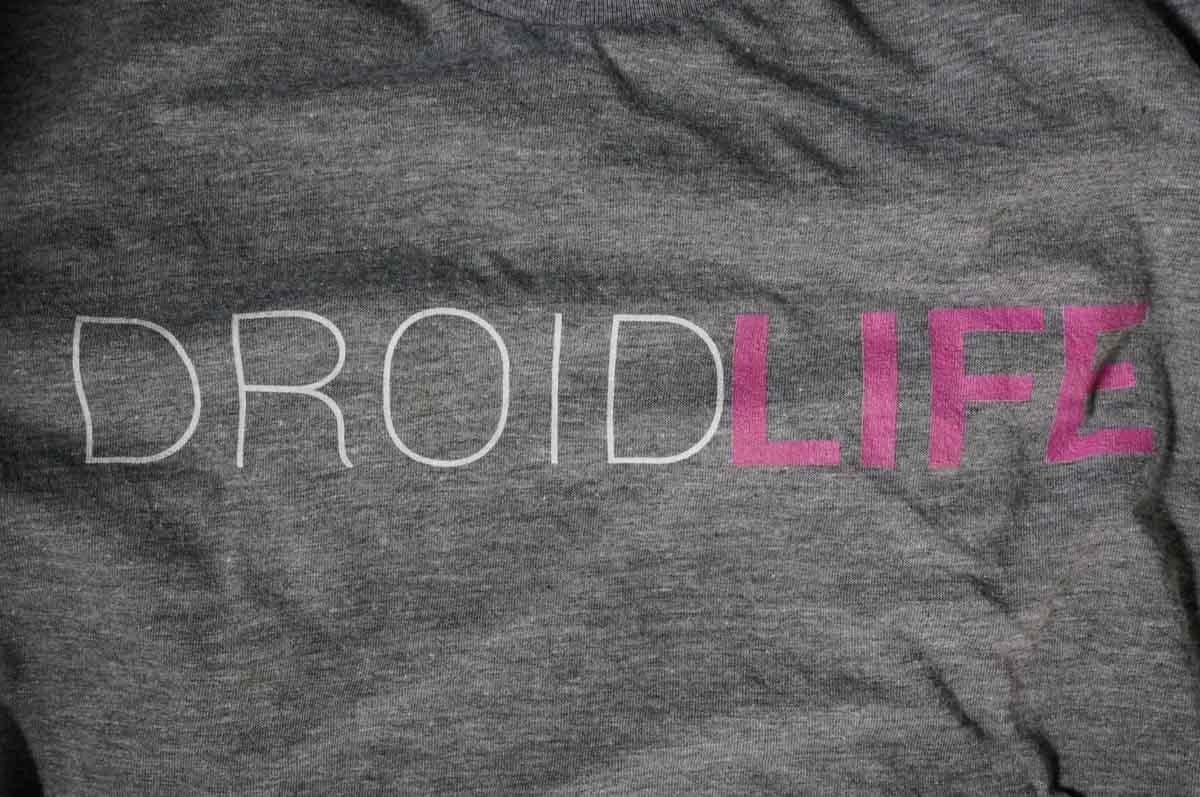 droid life shirt