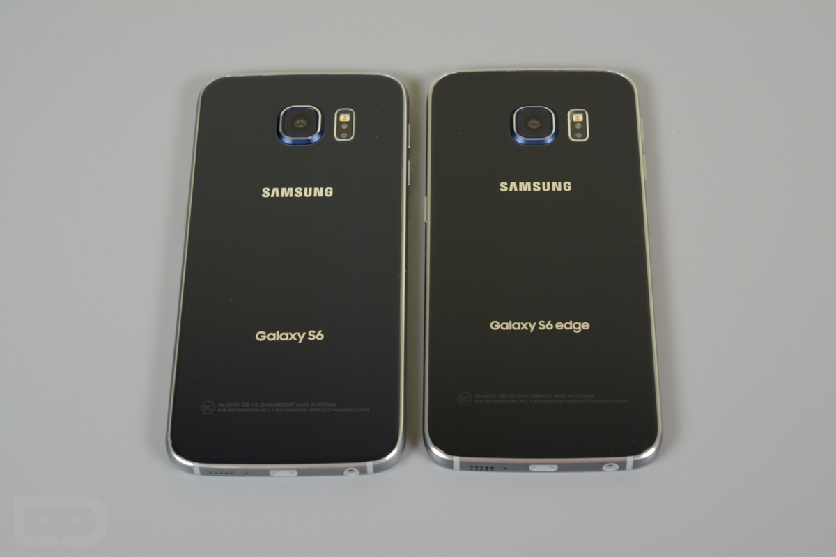 Compare Phones Side By Side >> Video: Samsung Galaxy S6 vs. Galaxy S6 Edge | Droid Life