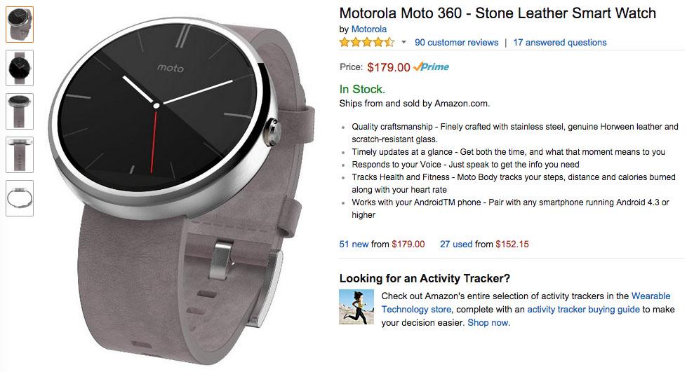 moto 360 deal