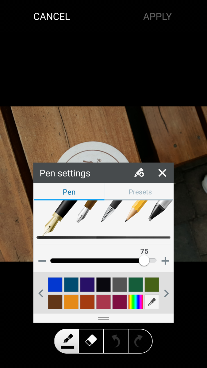 galaxy s6 update improves fingerprint recognition  drawing option in photo editor  and more