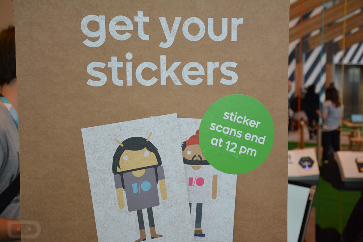 google io 2015 androidify stickers