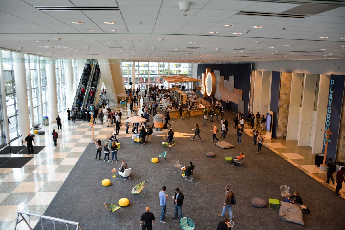 google io 2015 first floor