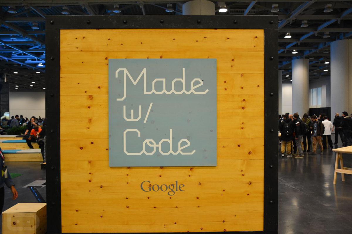 google io 2015 made with code