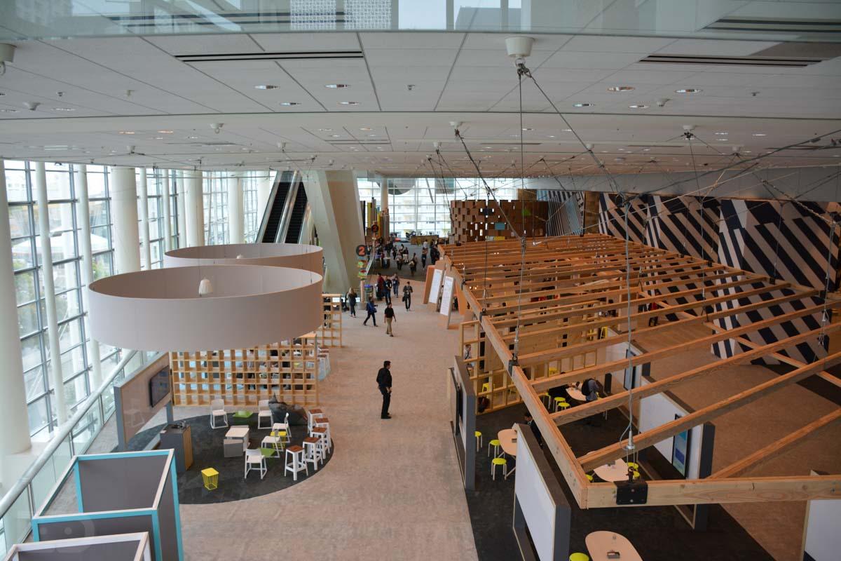 google io 2015 second floor