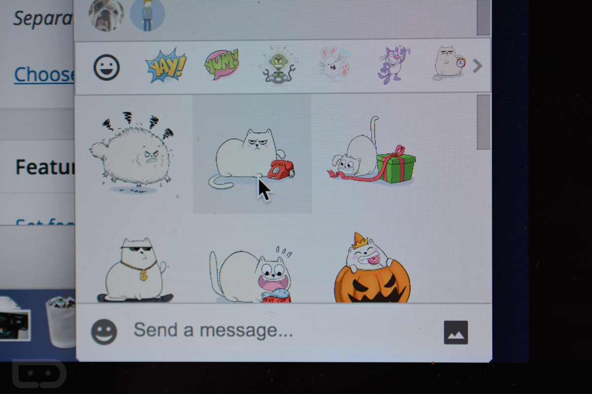 stickers hangouts