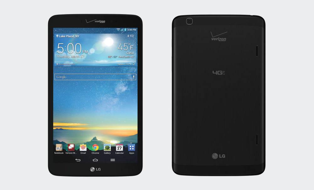 Verizon's LG G Pad 8.3 LTE Gets Lollipop Today