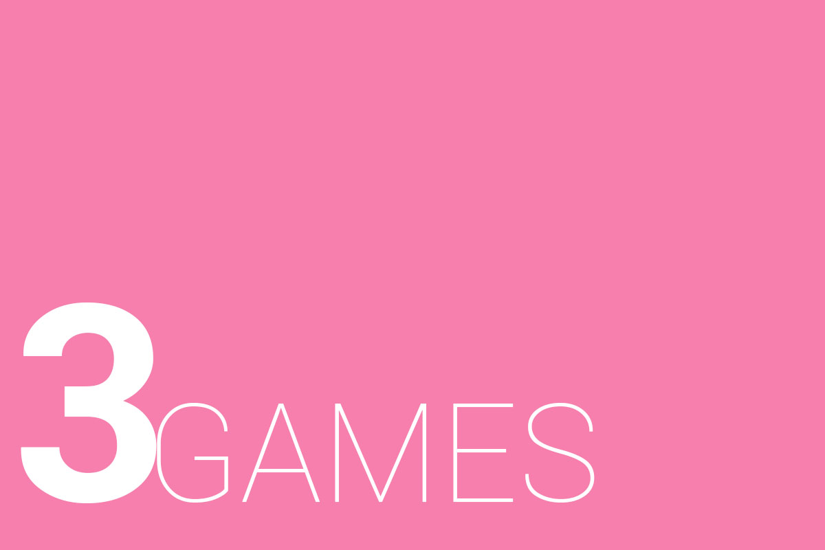 3 GAMES PINK