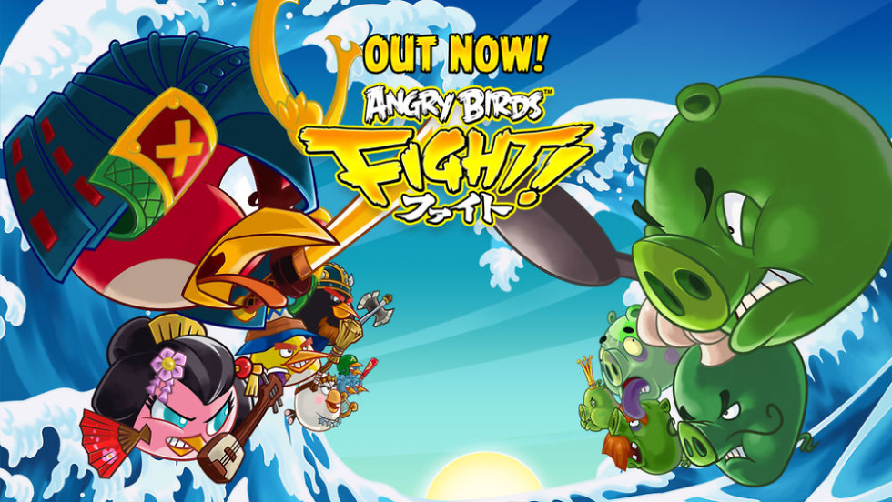 Rovio's Angry Birds Fight! Now Available in US, a Mix of
