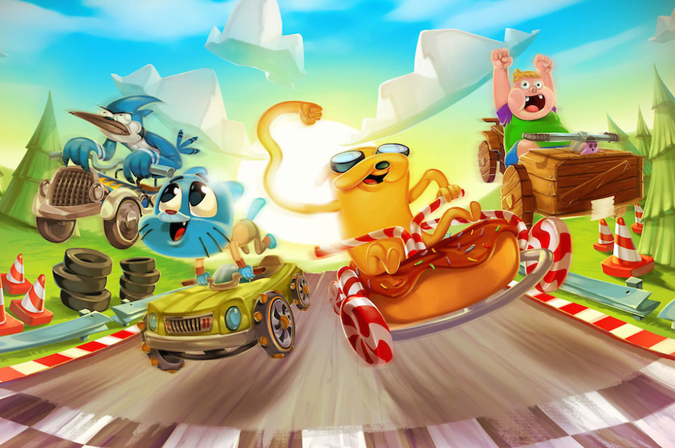 Cartoon Network Launches Formula Cartoon All Stars Racer To Google Play