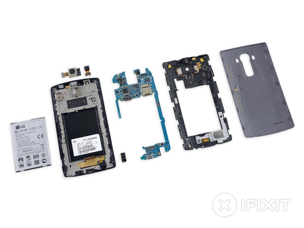 LG G4 teardown - 3