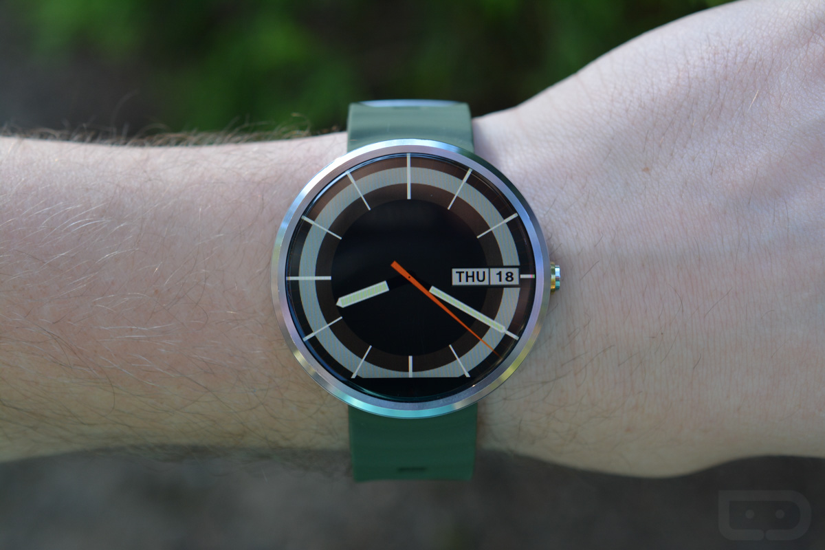android wear watch face
