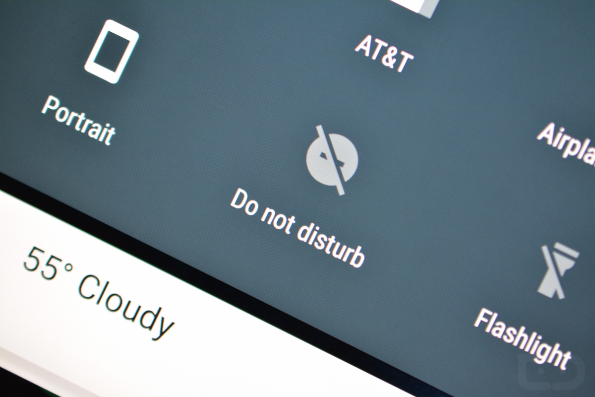 do not disturb android m