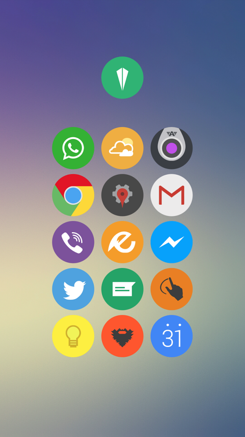 These Icon Packs are Hot: Polycon and Elun – Droid Life