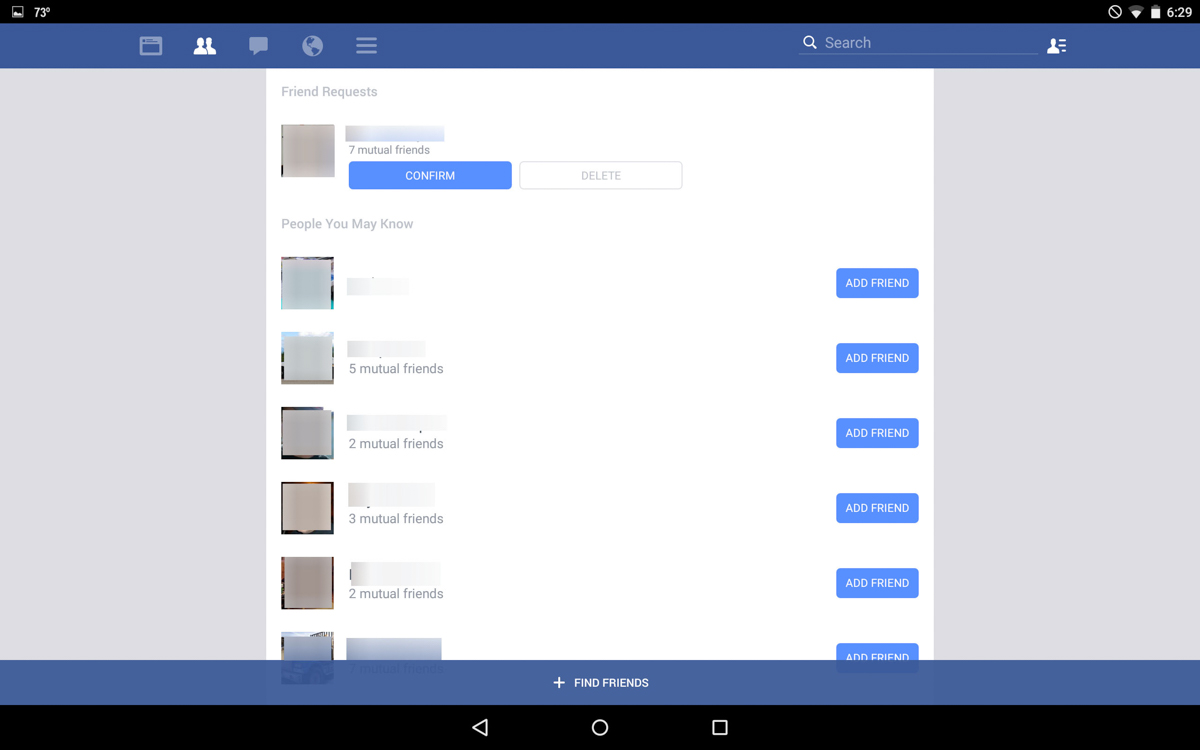 Facebook for phone android