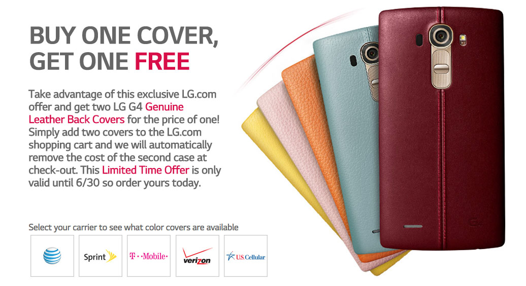 g4 leather promo