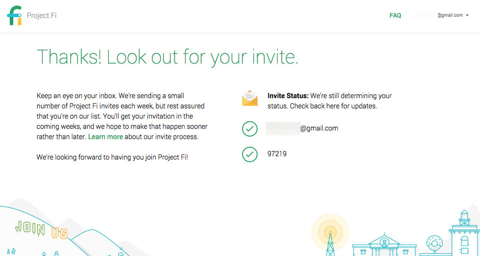 Google is Now Showing the Status of Your Project Fi Invite