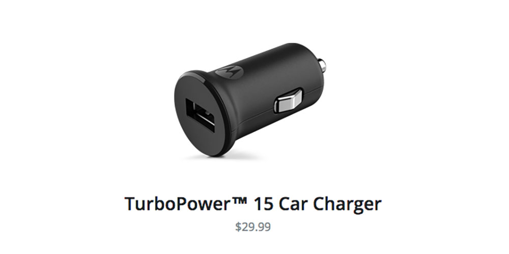 Motorola's TurboPower 15 Car Charger is Quick Charge 2.0 ...