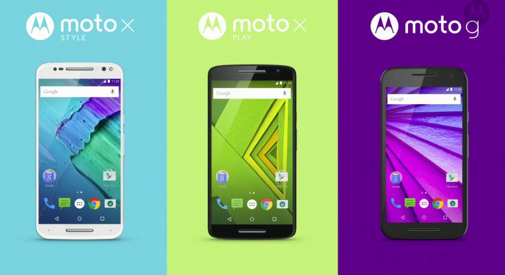 Motorola X Style, X-Play and New Moto G