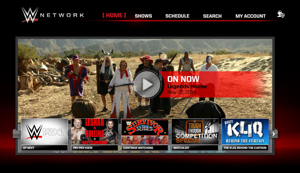 Wwe Network App Just Hit Android Tv Brother