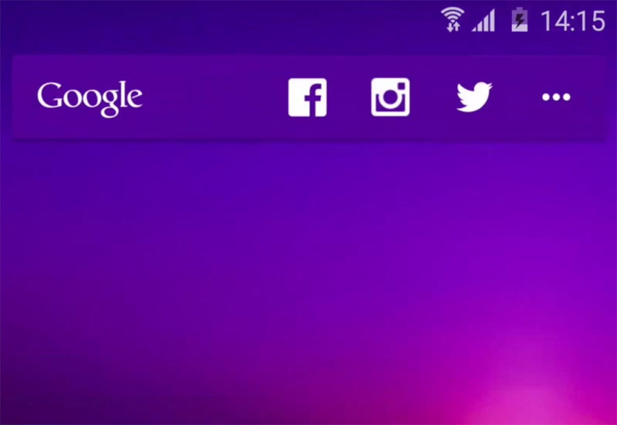 action launcher quickbar