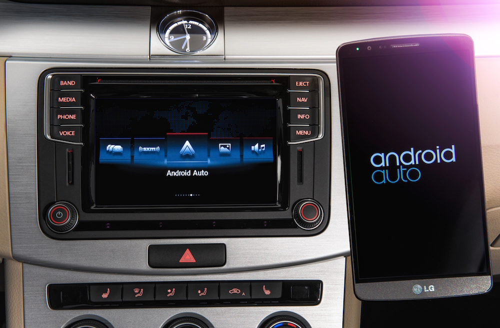 android auto coming to most 2016 volkswagen models droid. Black Bedroom Furniture Sets. Home Design Ideas