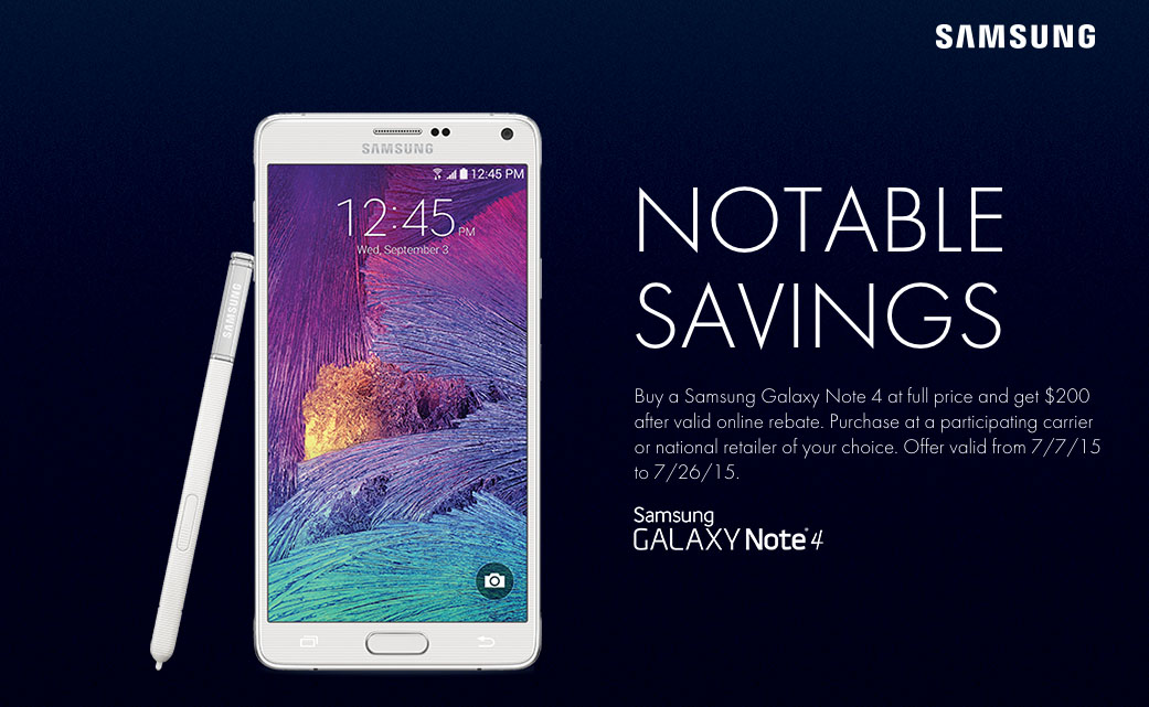 note 4 deal