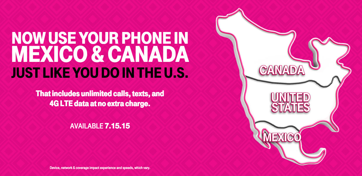 T-Mobile Uncarrier Amped 2: Talk, Text, and 4G LTE in Canada and ...