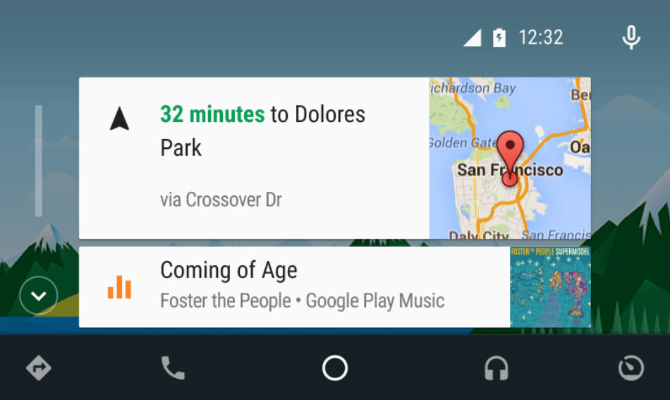 android auto ui tweaked in latest app update. Black Bedroom Furniture Sets. Home Design Ideas