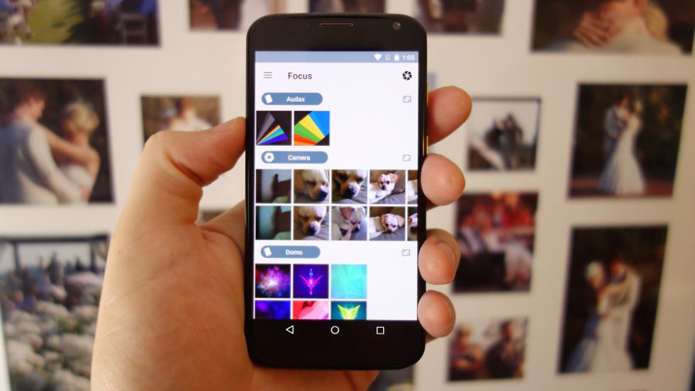 Focus Gallery App