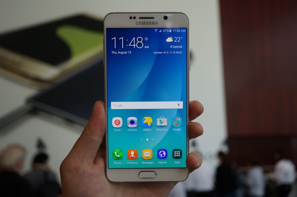 Samsung Galaxy Note 5 Specs (Official)