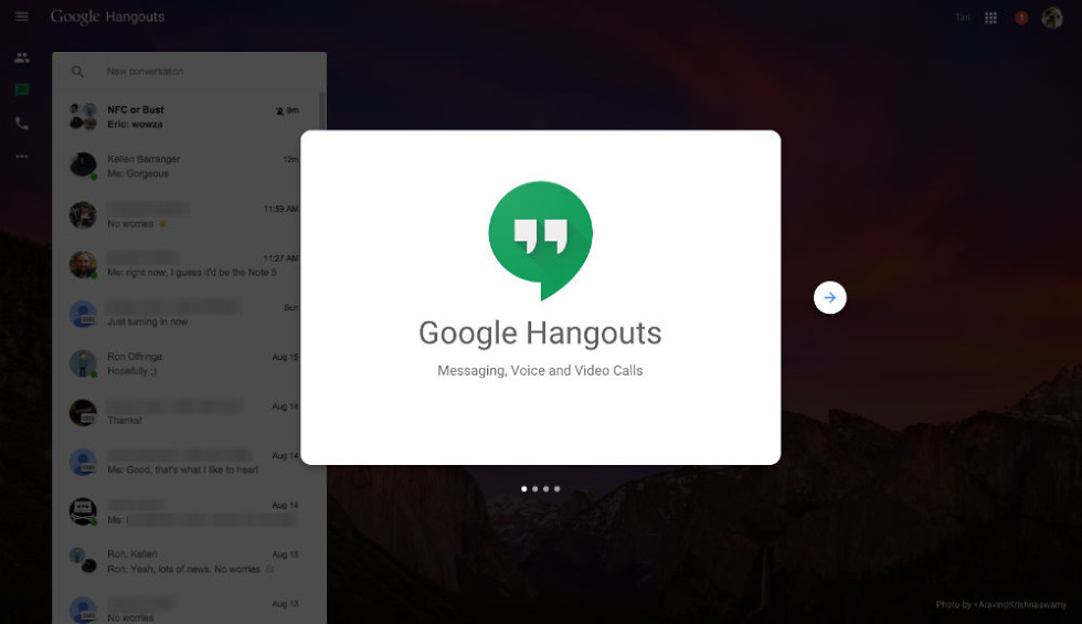 Google Intros Dedicated Hangouts Webpage for Calls and