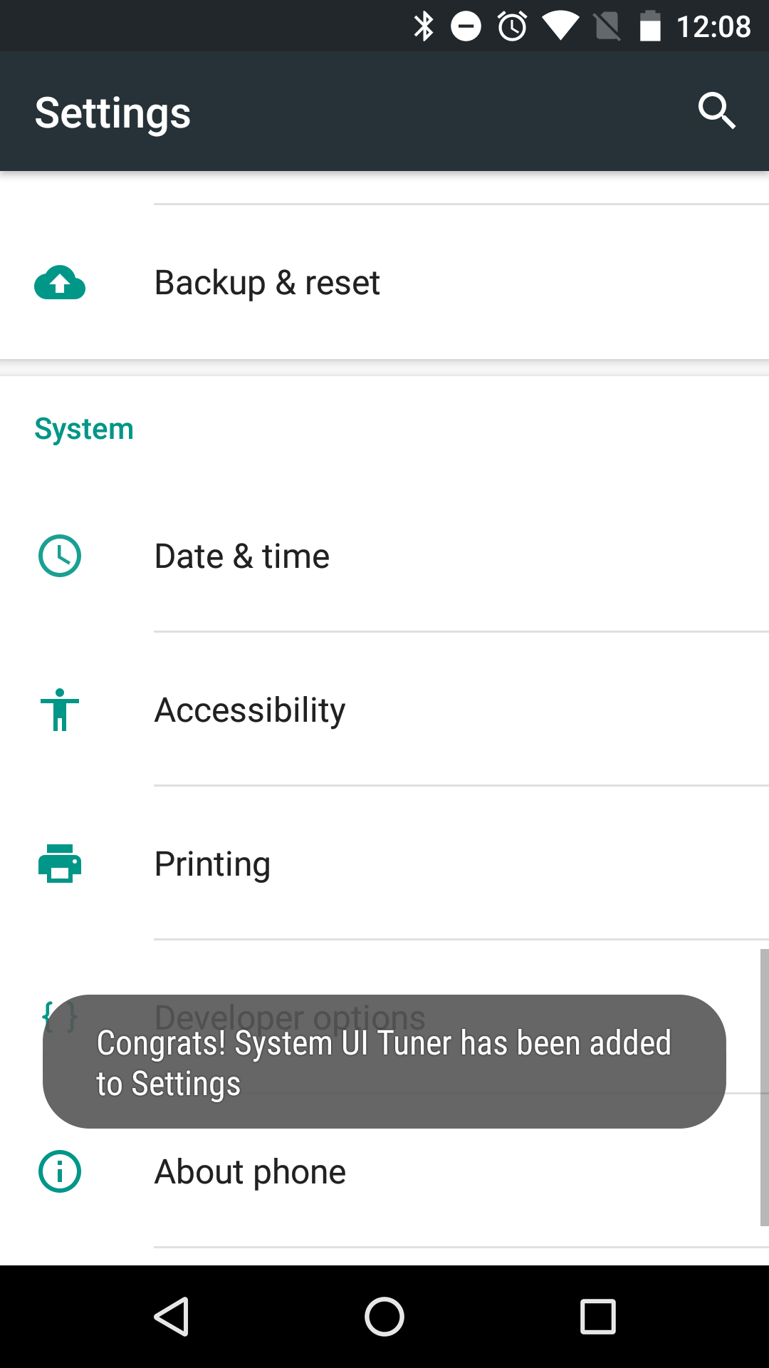 How To Turn On System Ui Tuner In Android 6 0 Marshmallow