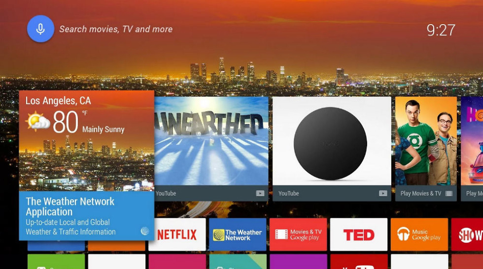 Weather Network Launches Live App for Android TV – Droid Life