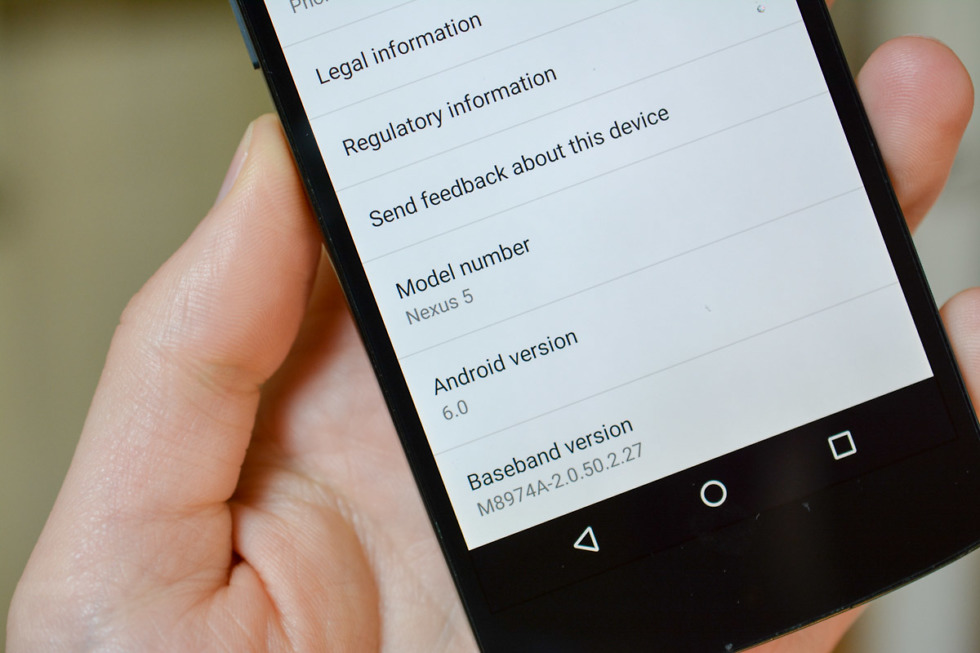 android 6.0 marshmallow Preview 3 OTA Updates