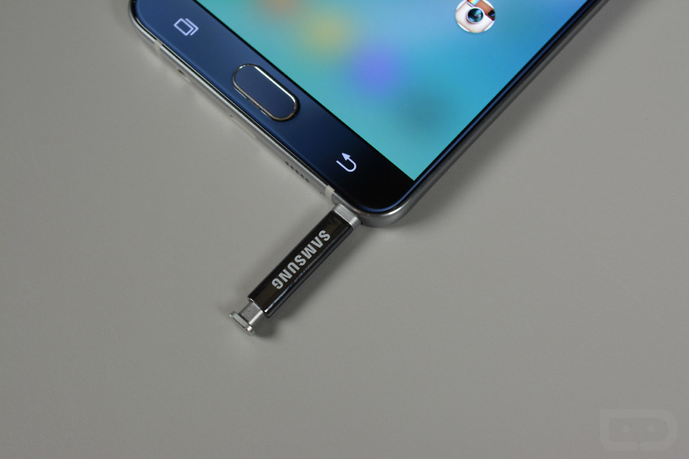 galaxy note 5 s pen backwards