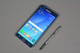 galaxy note 5 unboxing