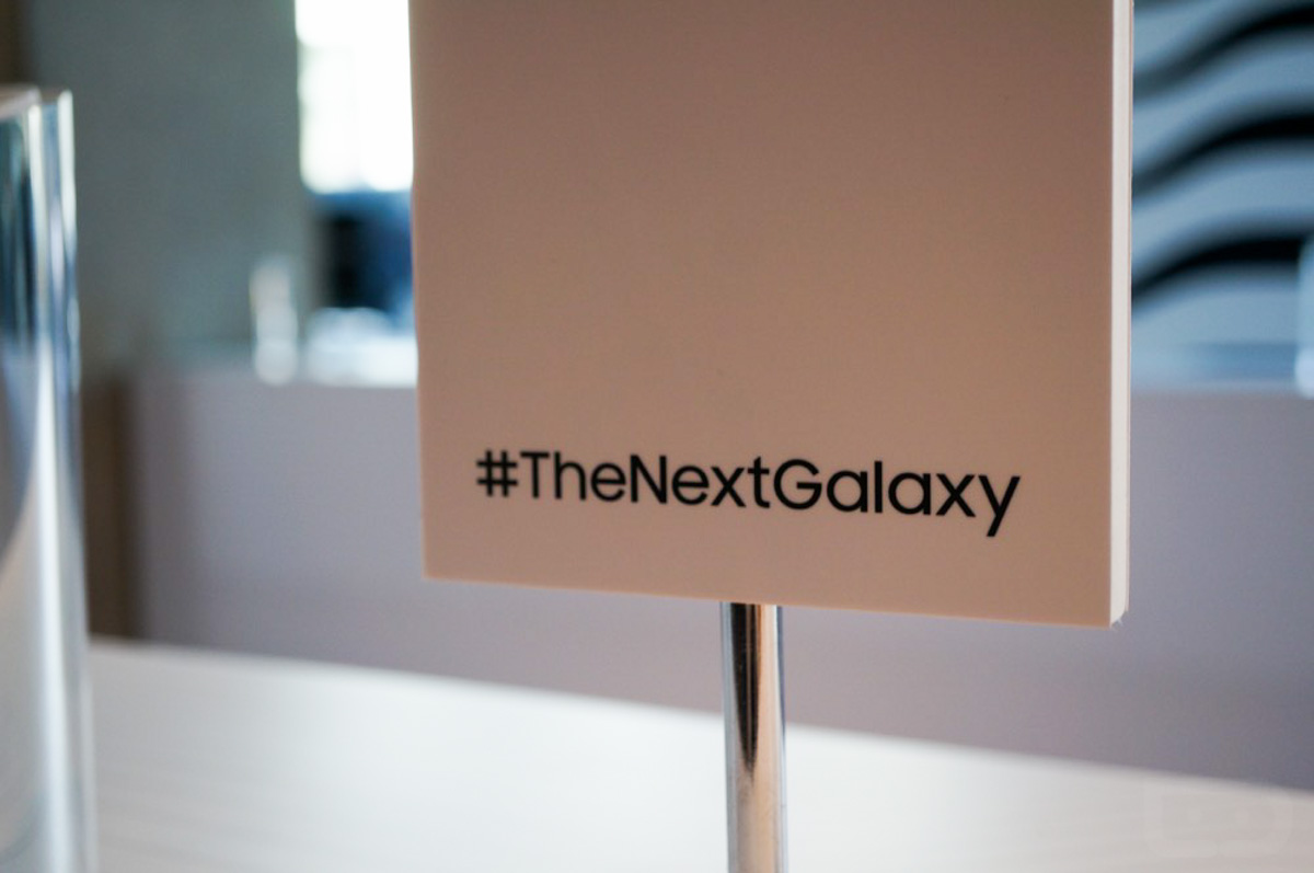 galaxy note 5 event