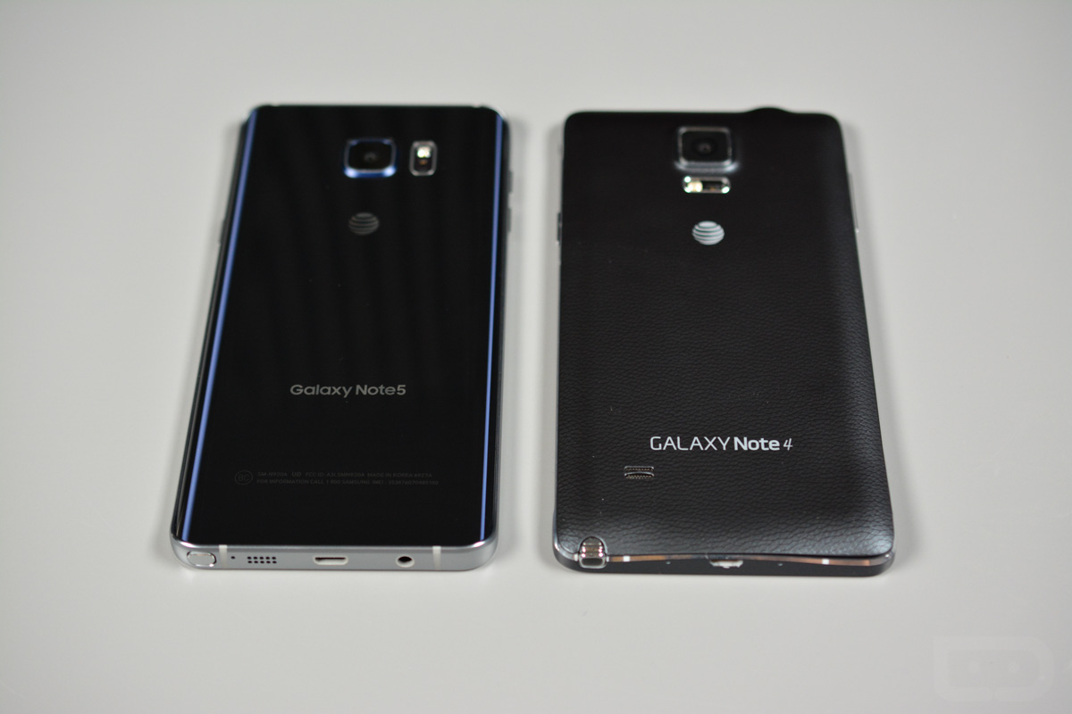 Video Comparison Galaxy Note 5 Vs Galaxy Note 4 Droid Life
