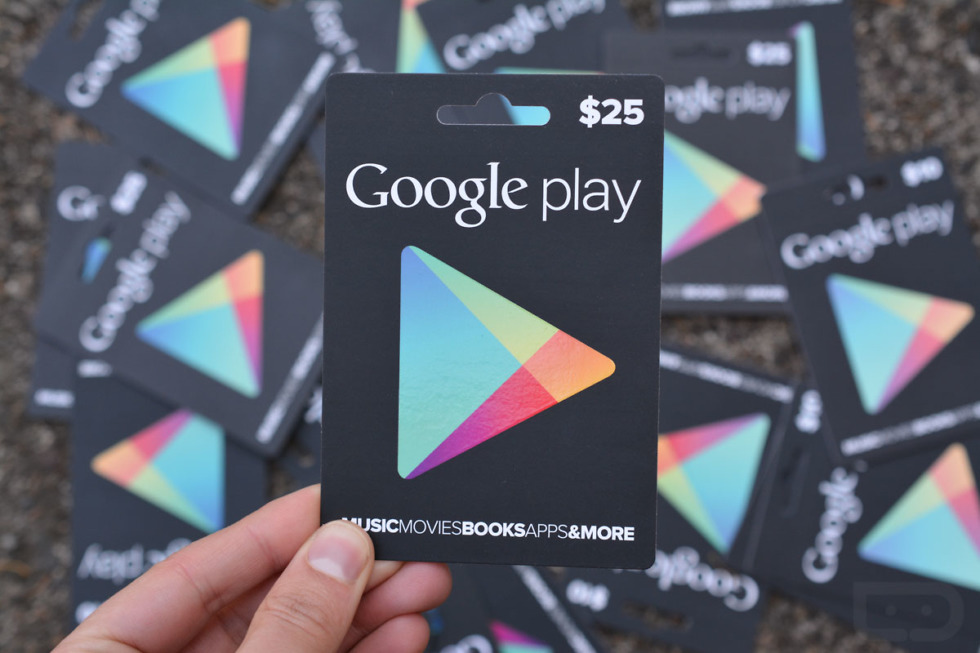Google play redeem codes giveaways