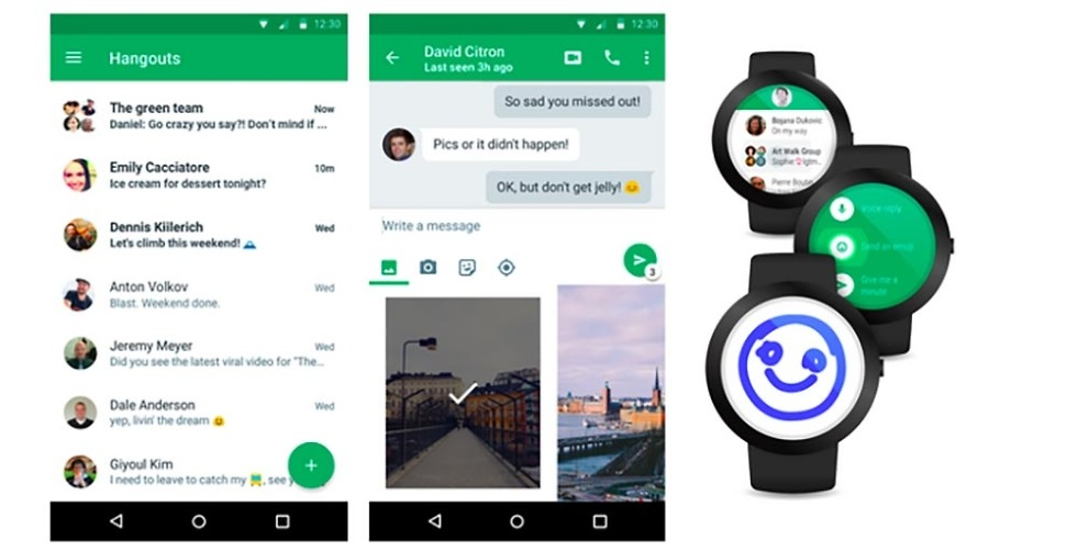 Hangouts 4 0 for Android Rolls Out Today! (Updated: APK