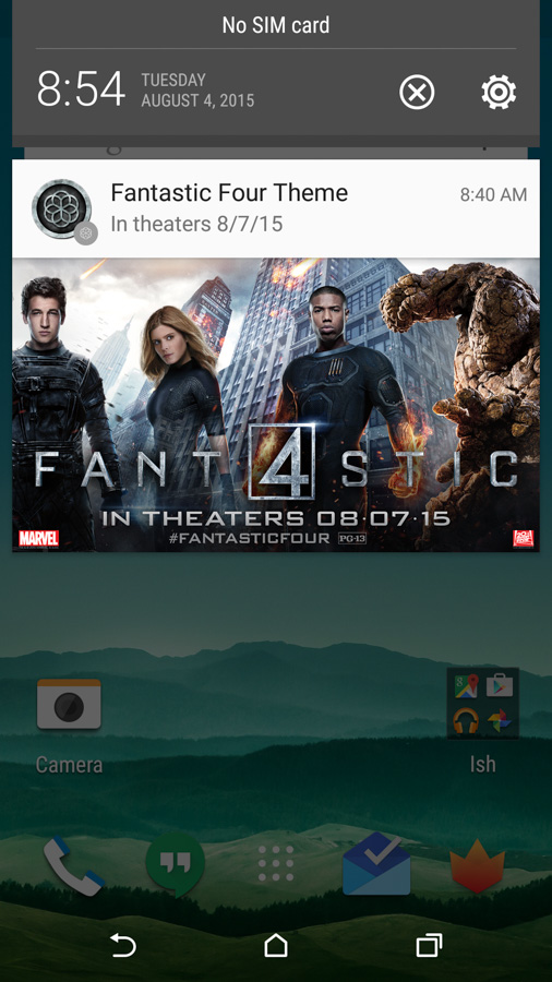 htc fantastic four ad
