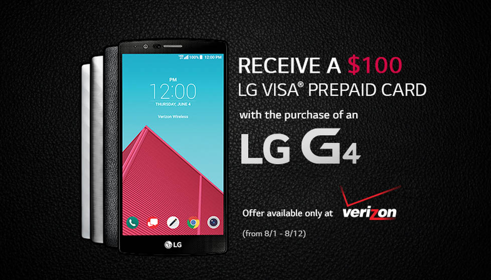 lg g4 verizon deal