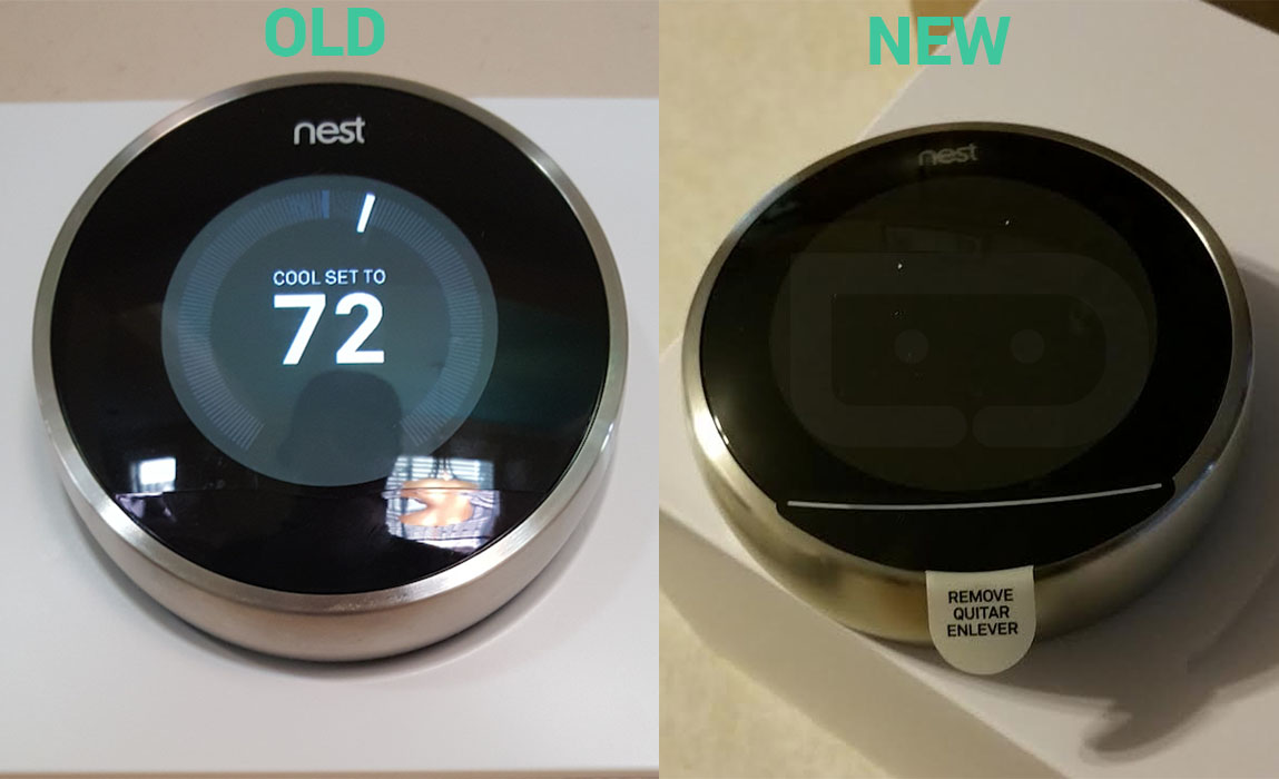 old new vs new nest