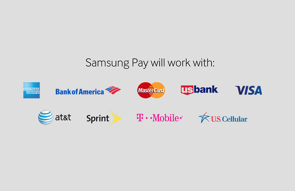 samsung pay partners