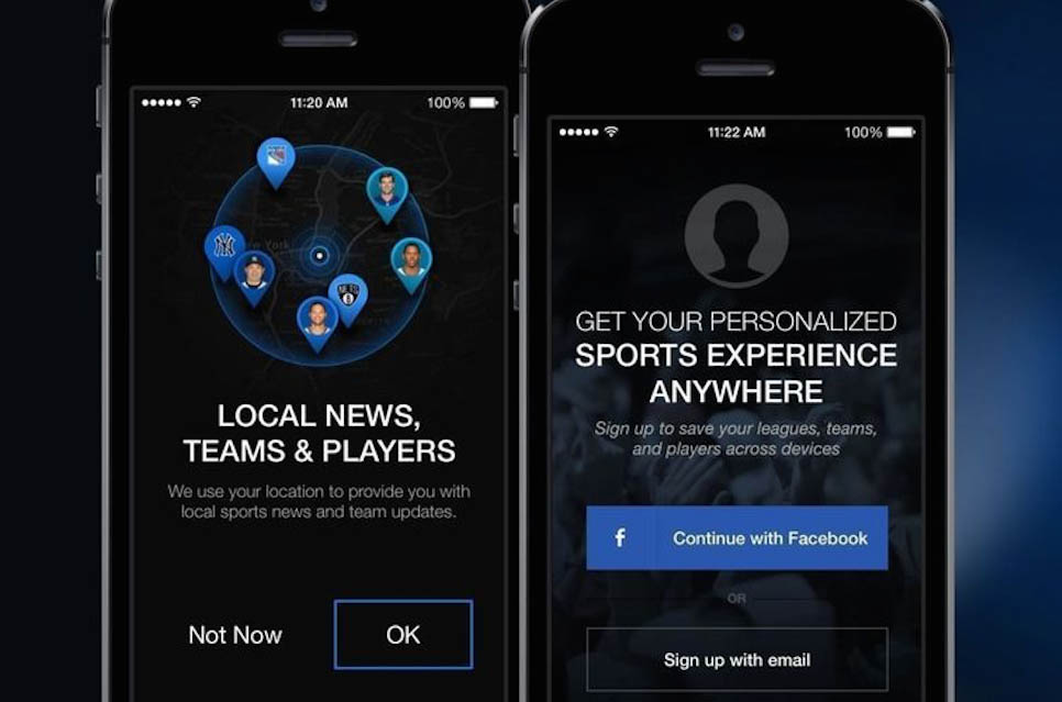 thescore sports accounts