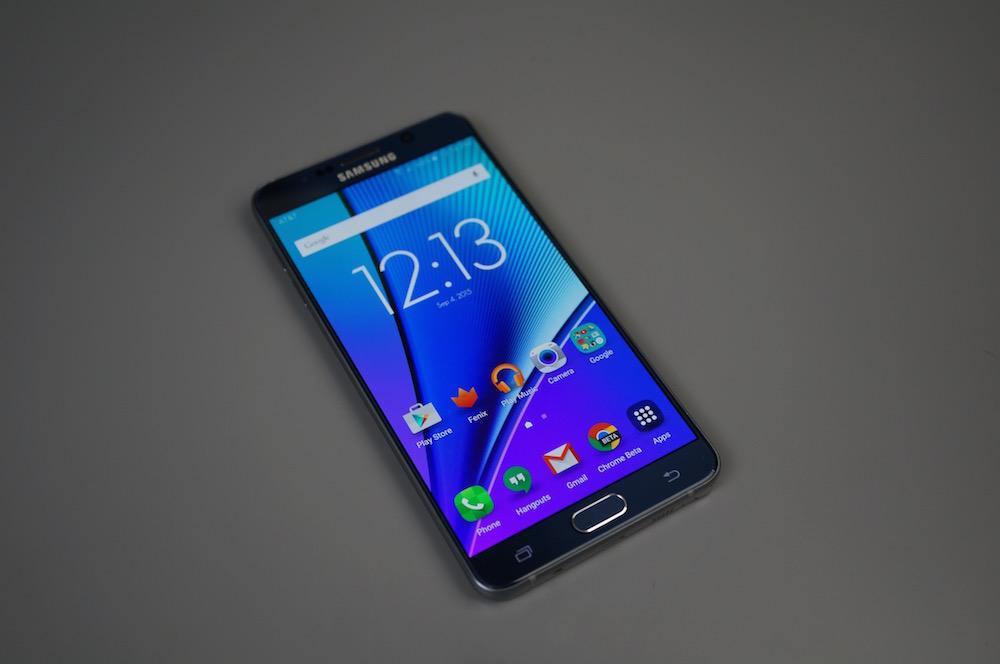 Galaxy Note 5 Hotness