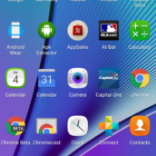 Galaxy Note 5 TouchWiz UI2