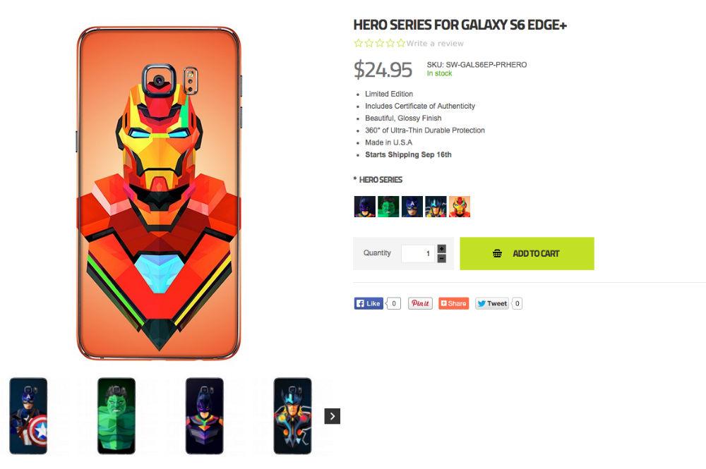 SlickWraps Intros Justin Maller 'Hero' Skins for Android