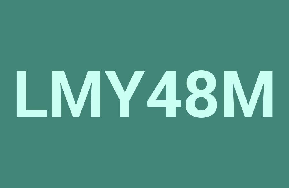 lmy48m