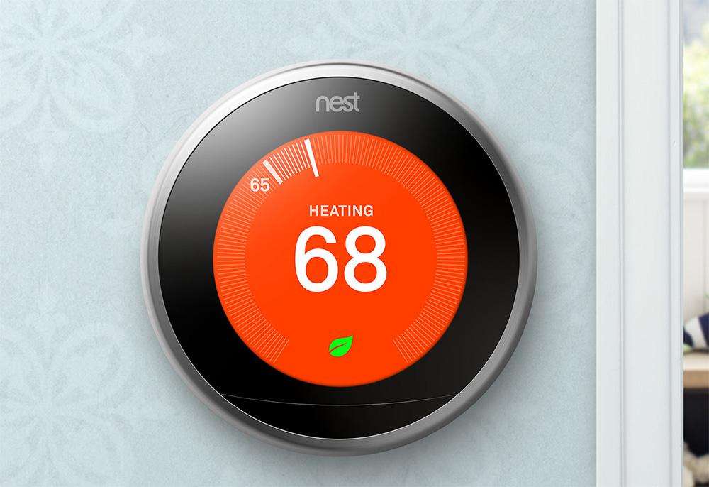nest announces 3rd gen thermostat with bigger display. Black Bedroom Furniture Sets. Home Design Ideas